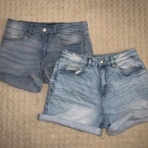 Demin Shorts Pack! Size 8!